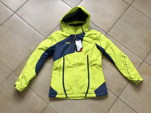 Теплая женская зимняя мембранная куртка High Experience цвет Bitter Lemon р. L (46)