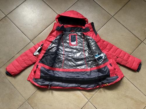 Теплая женская зимняя мембранная куртка High Experience цвет Light Red р. L (46)