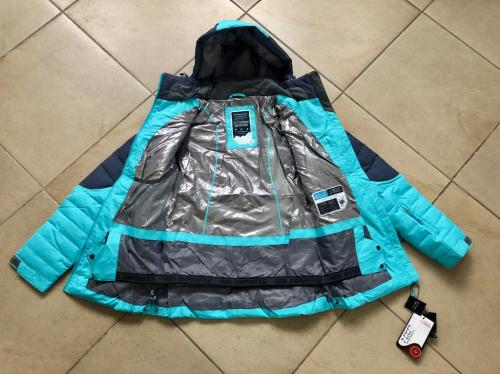 Теплая женская мембранная куртка High Experience цвет Ice Blue р. M (44)