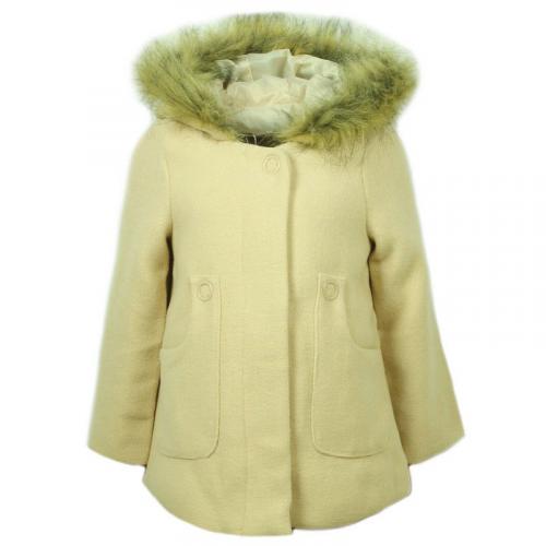Пальто утепленное для девочки