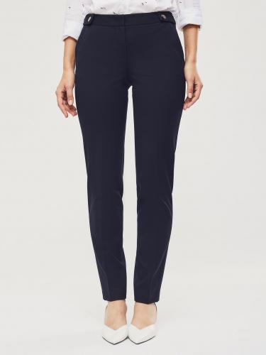 Эластичные брюки с планками