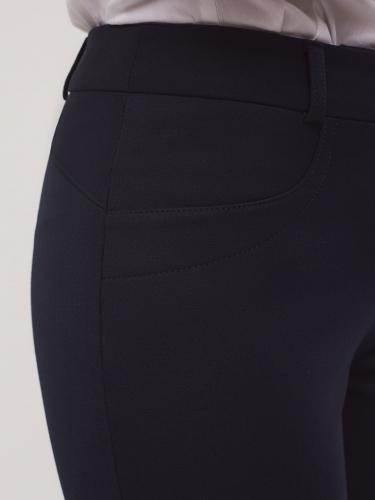Прямые брюки из плотной поливискозы