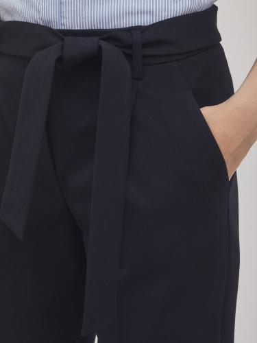 Укороченные брюки с отворотами