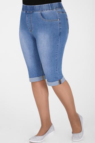 М-12 8635 Капри джинсовые