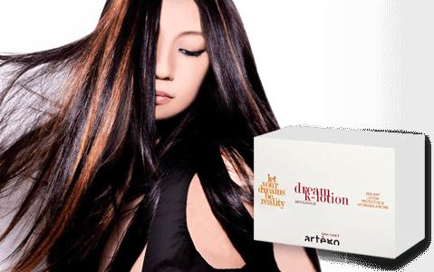 *Кератиновые ампулы для восстановления волос / Dream lotion 12х8ml