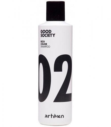 02 Шампунь для окрашенных волос / Rich Color shampoo 1000ml