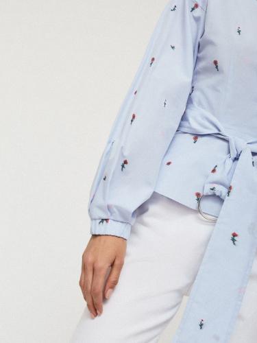 Блуза из хлопка