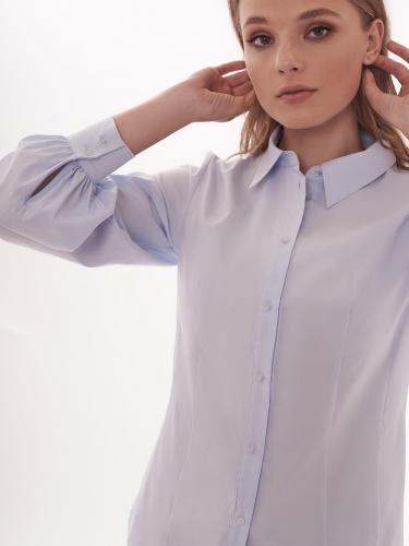 Рубашка с объемными рукавами