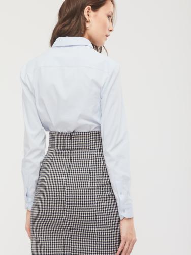 Боди-блуза из хлопка