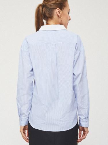 Рубашка с хлястиками