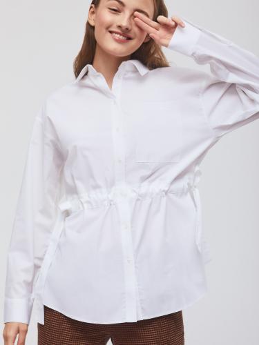 Рубашка на кулиске