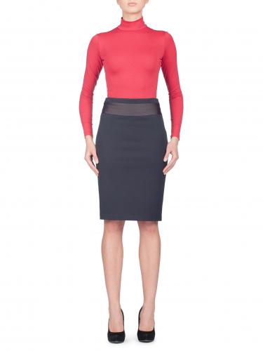 Эластичная юбка-карандаш