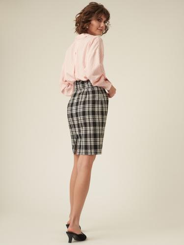 Короткая юбка с поясом
