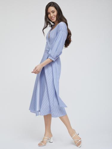 Платье из хлопка на запах