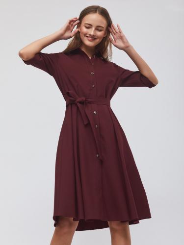 Платье-рубашка из поливискозы