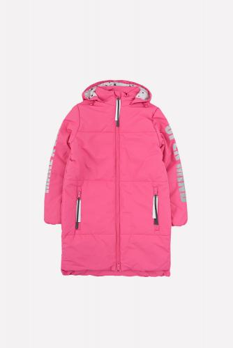 Пальто ВК 32089/2 ГР темно-розовый. Crockid