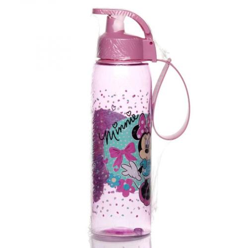 Бутылка спортивная 0,5л Минни Маус с ручкой