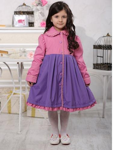 SALE   1900   Плащ детский для девочки М200-3 розовый