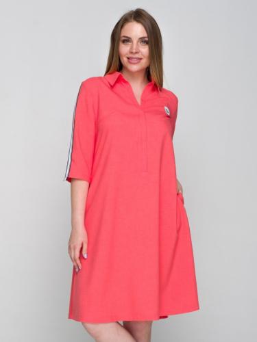 Платье 113/2, лососевый