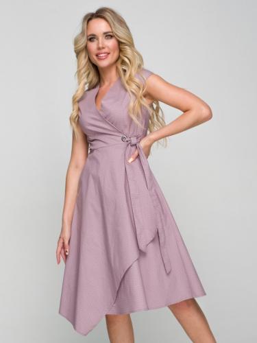 Платье 179/1, какао/горох