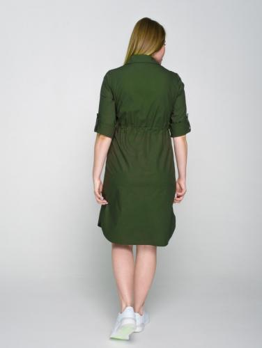 Платье 176/1, бутылочное стекло