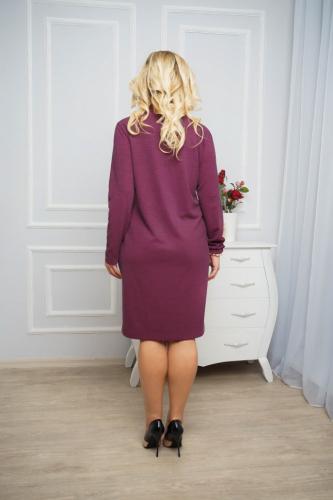Платье 031, бордовый