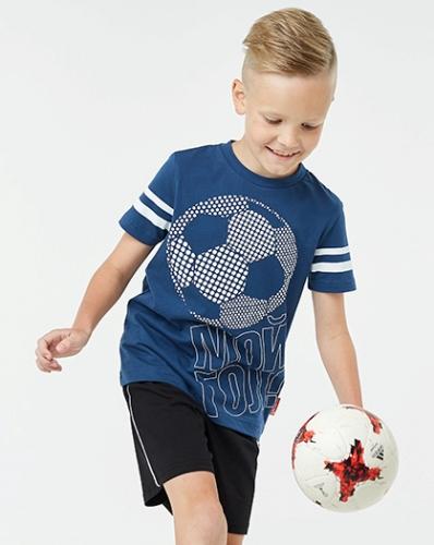 Футболка для мальчика, ЦВЕТА:черный, красный,т.бирюз
