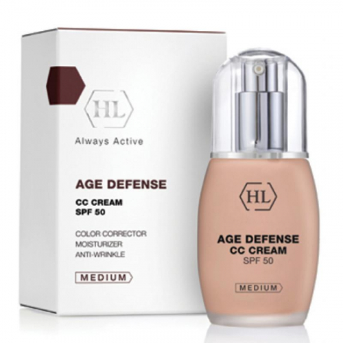 AGE DEFENSE CC Cream Medium (SPF50) / Антивозрастной увлажняющий крем, 50мл