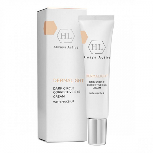 DERMALIGHT Dark Circle Corrective Eye Cream make-up / Корректирующий крем с тоном, 15мл