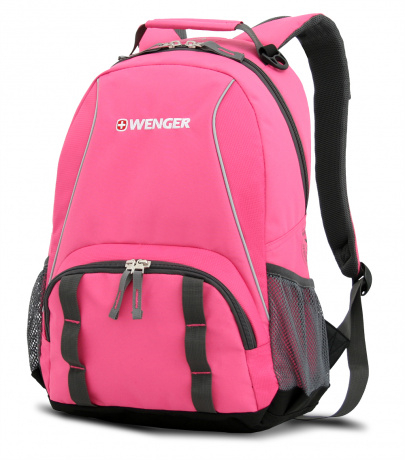 Рюкзак Wenger, розовый, 32х14х45 см, 22 л
