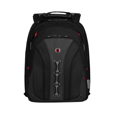 Рюкзак Wenger 16'', черный/серый, 35x25x45 см, 21 л