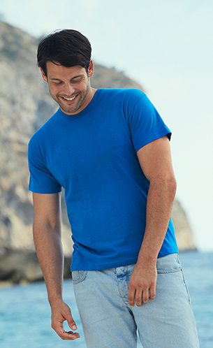 арт61-082 S-XXL 42-60 бел 152.00; цвет 183.00 ORIGINAL T (SCREEN STARS) классические легкие футболки  135-145 гр-м2