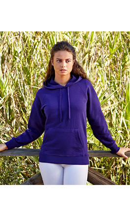 толстовка арт62 148 LIGHTWEIGHT HOODED SWEAT LADY-FIT  женская SALE 240 гр-м2 XS-XXL 42-52 549,00