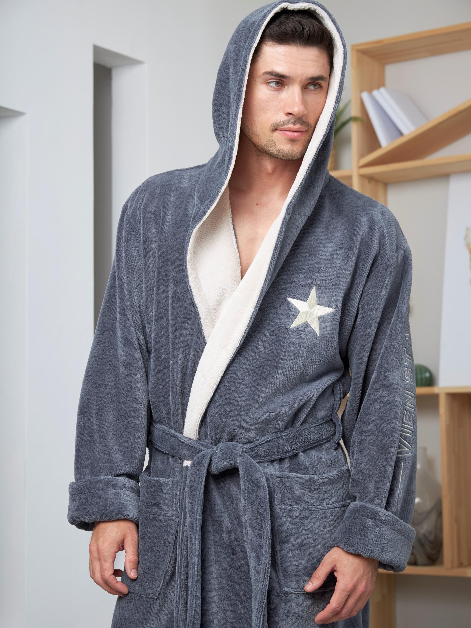 купить банный халат с капюшоном