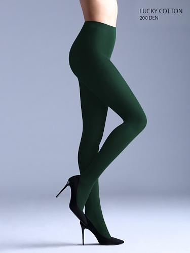 Колготки #140713Темно-зеленый