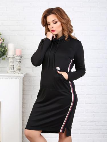 Платье 044/4, черный