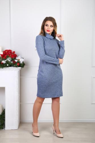 Платье 031/1, голубой