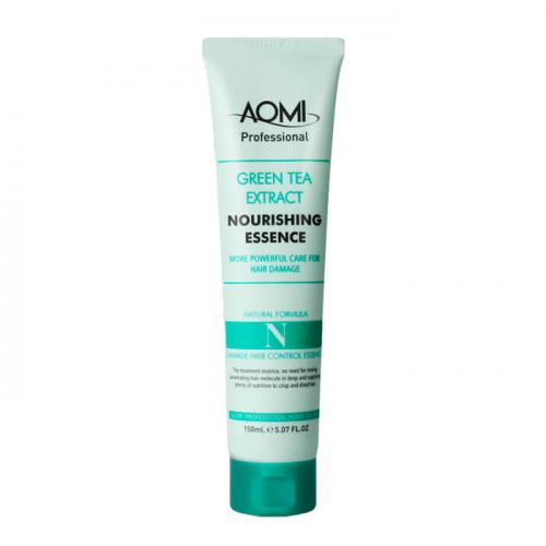 AOMI Эссенция с экстрактом зеленого чая д/увлажнения и питания волос 150мл