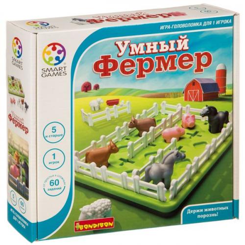 Логическая игра Bondibon Умный фермер, арт. SG 091 RU.
