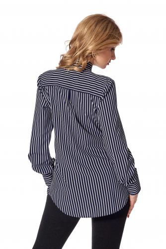 Рубашка № 436.2_темно-синий
