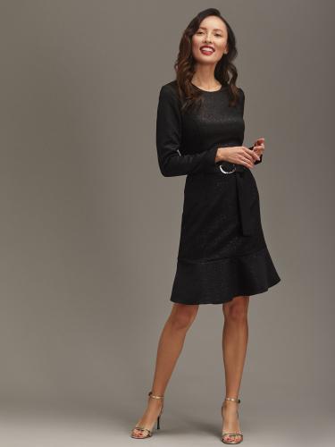 Платье с мерцающим эффектом