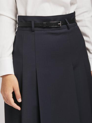 Расклешённая юбка из смесовой шерсти