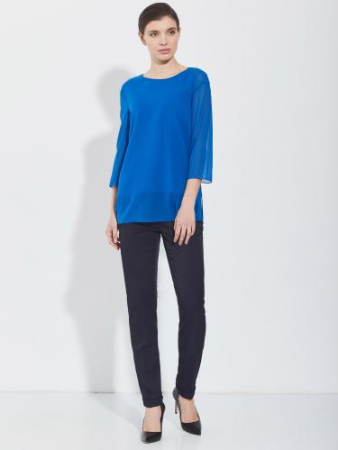 Свободная блуза из шелка