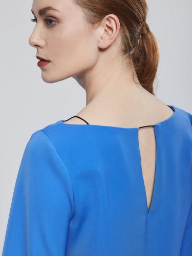 Блуза с рукавами присборенными у манжета