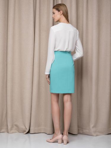 короткая прямая юбка