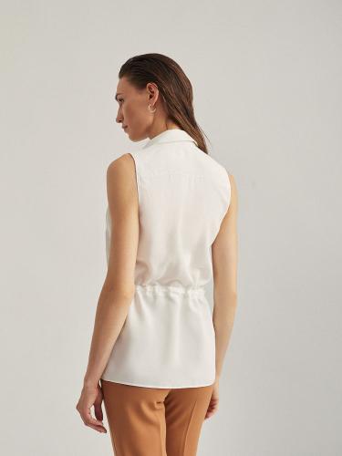 Блуза на кулиске