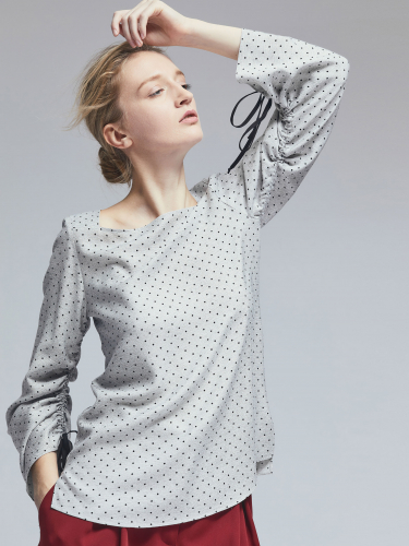 Блуза со сборками