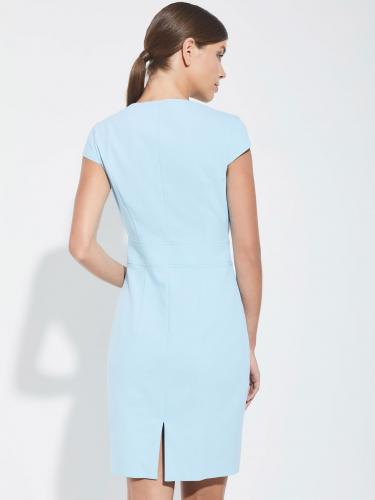 Платье-футляр из полихлопка