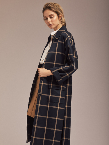 Облегченное пальто