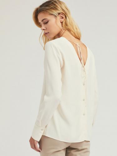 Блуза с завязками